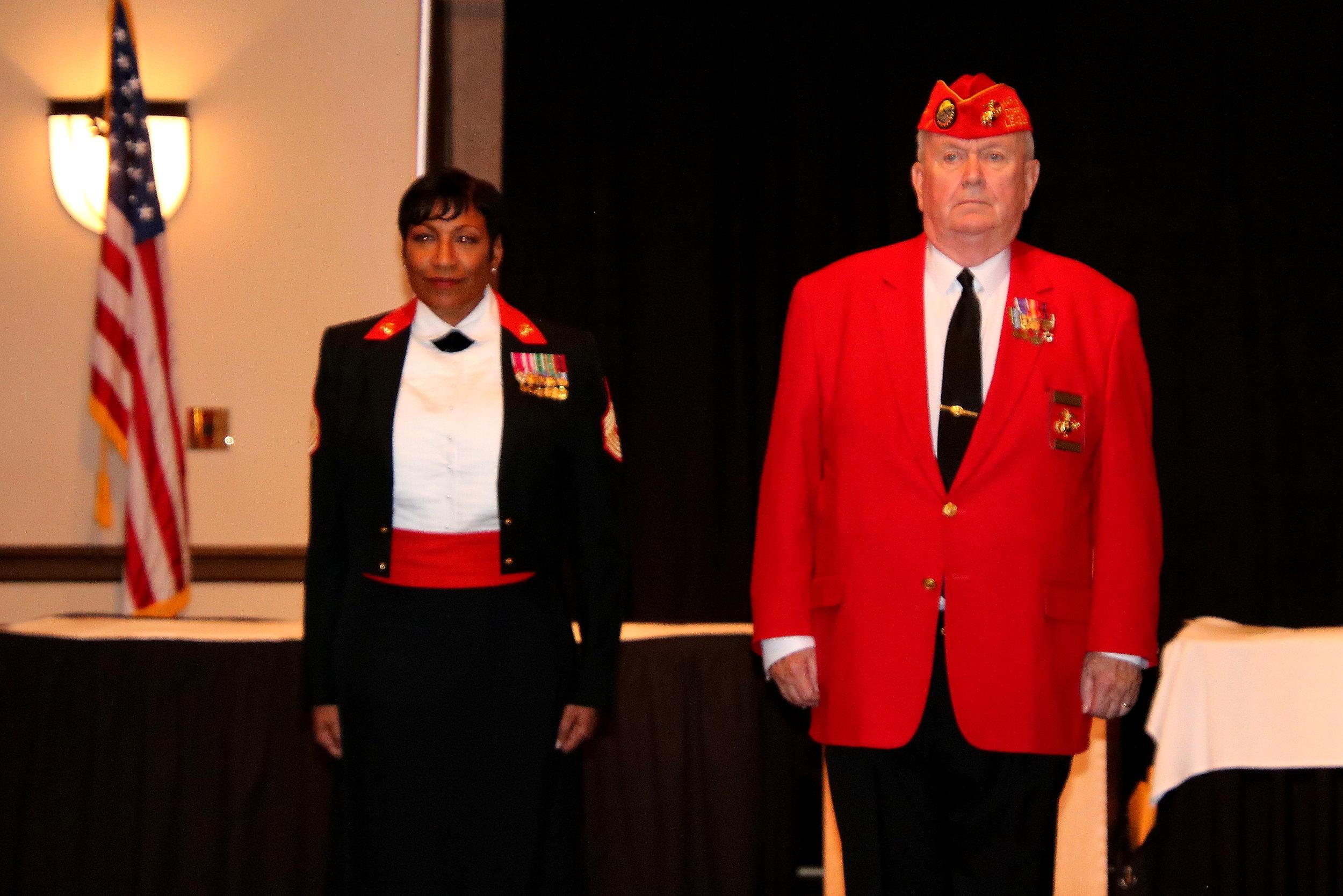 Guest Speaker Sergeant Major Ramona Cook