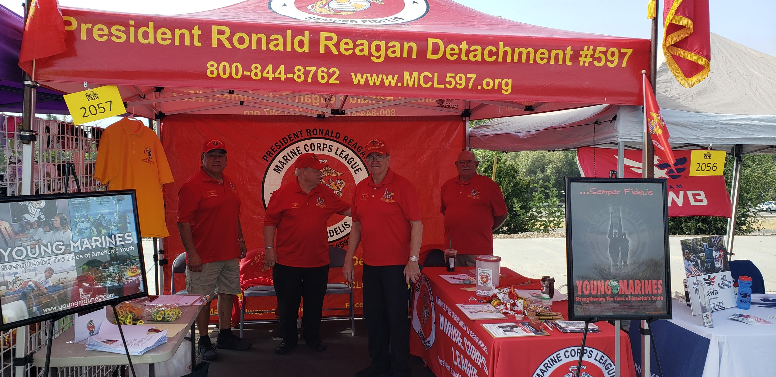 May 7, 2019   Our Detachment hosts a stall at the Simi Valley Street Fair.