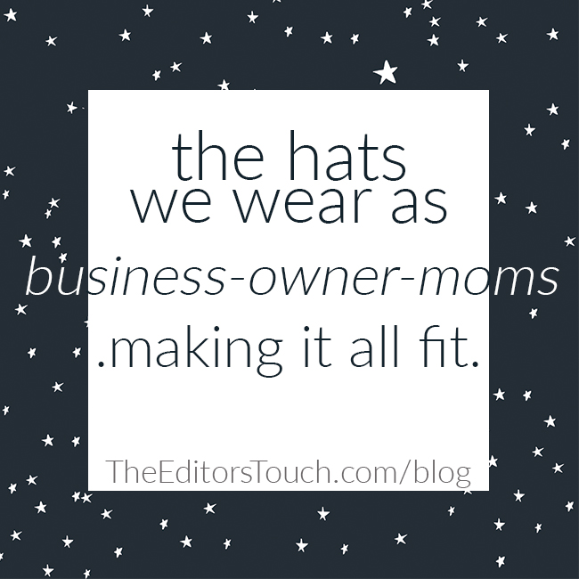 Being a mom (or dad!) and a business owner