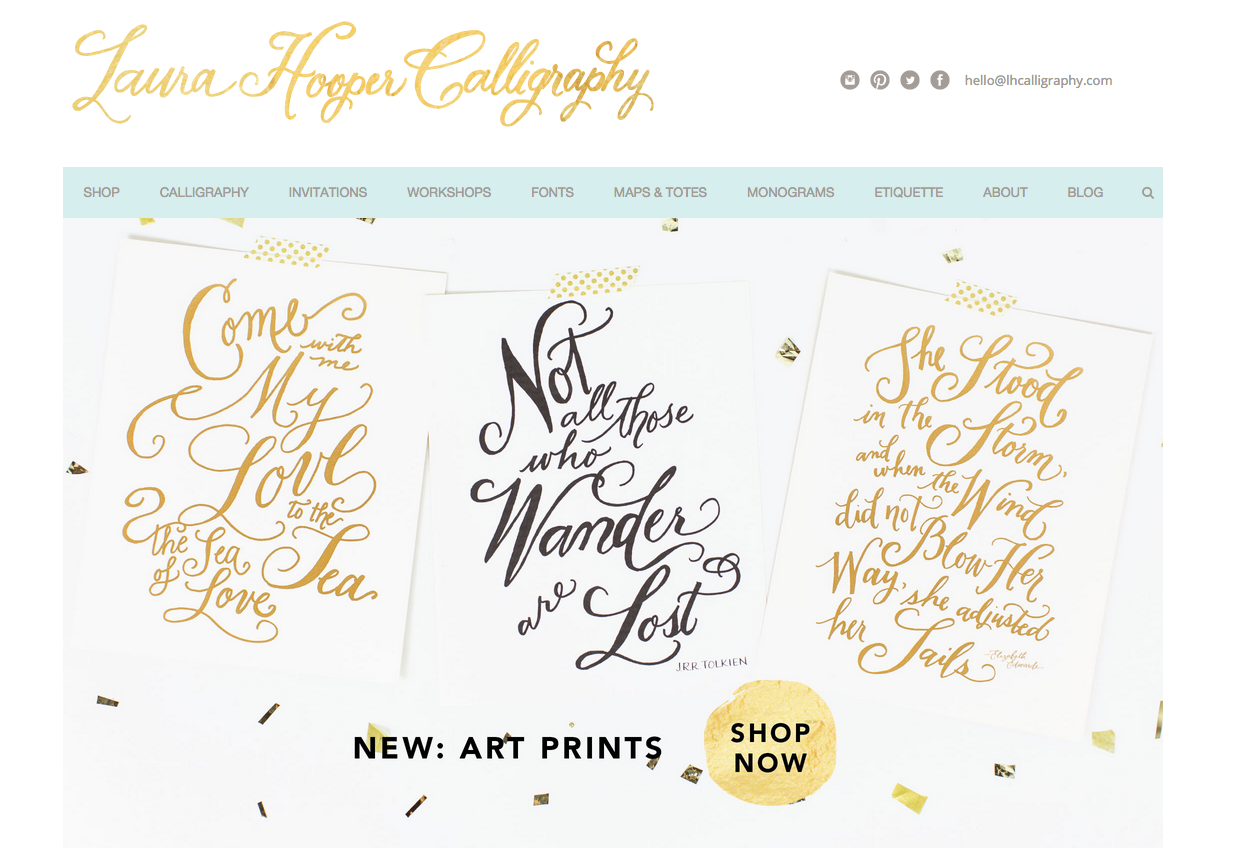 Laura Hooper Calligraphy | Wedding Calligraphy