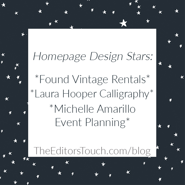 Hit a Home Run with Your Homepage Design | The Editor's Touch blog
