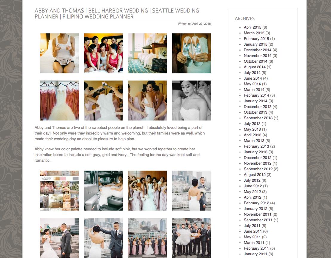 Seattle Wedding Planning and Coordination   New Creations Wedding Design