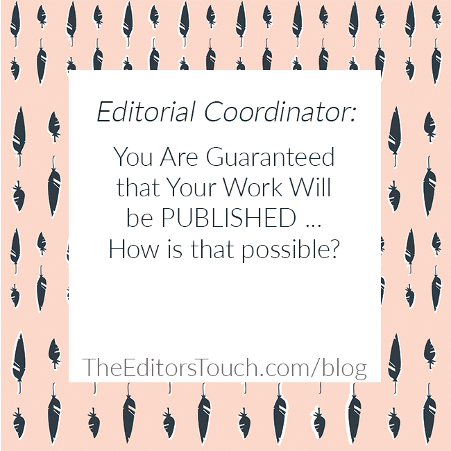 Editorial Coordinator | Wedding Pros Get Your Work Published