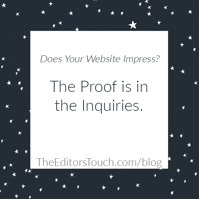 Does Your Company Website Impress?
