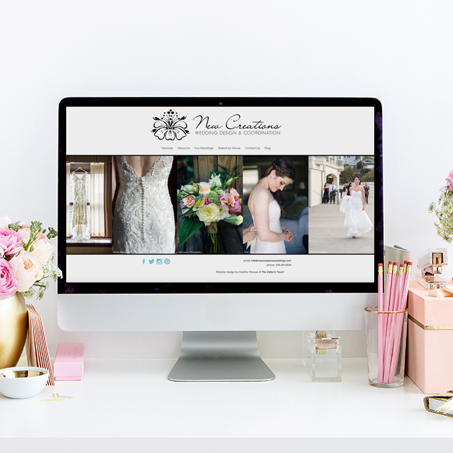 Website Redesign by The Editor's Touch