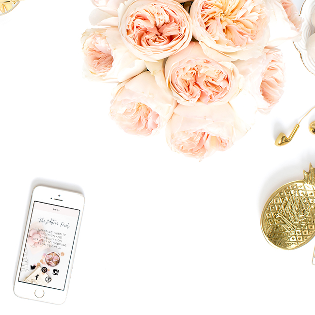 Heather Sharpe | The Editor's Touch | Offering Business Consulting and Website Design to Wedding and Lifestyle Professionals