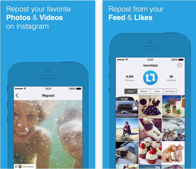 Repost App for Instagram
