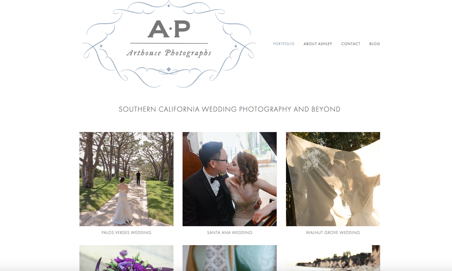 Los Angeles Wedding Photography by Arthouse Photographs   Website Design by Heather Sharpe of The Editor's Touch