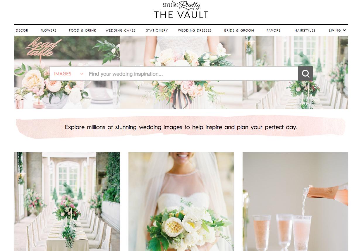 The Vault | Style Me Pretty | Wedding Blog Pretties