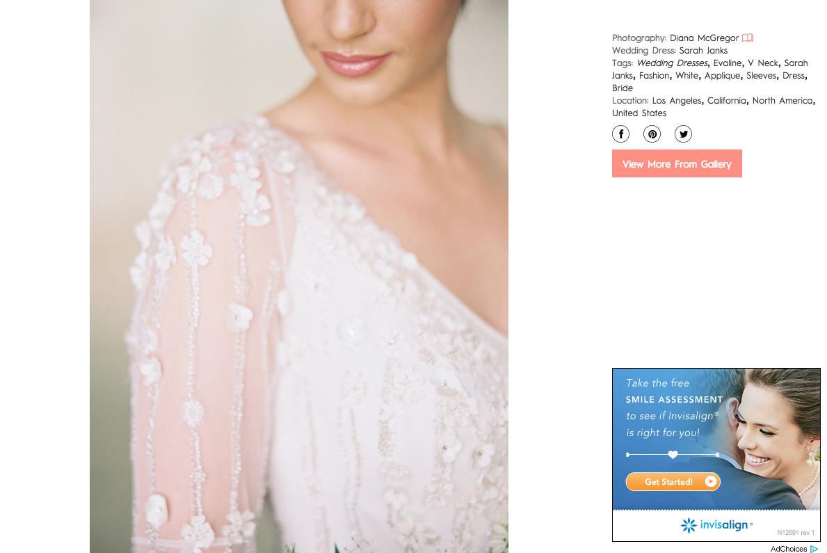 Diana McGregor Photography | The Vault on Style Me Pretty
