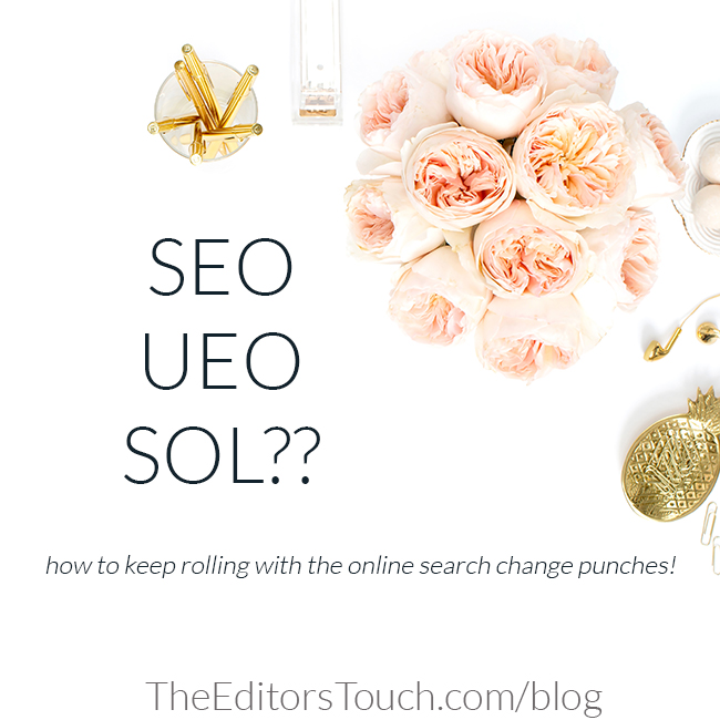 UEO is User Experience Optimization | The Editor's Touch