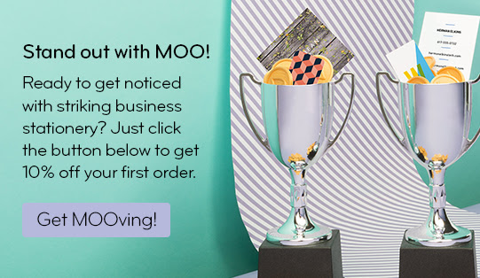 Save 10% on Moo | The Editor's Touch