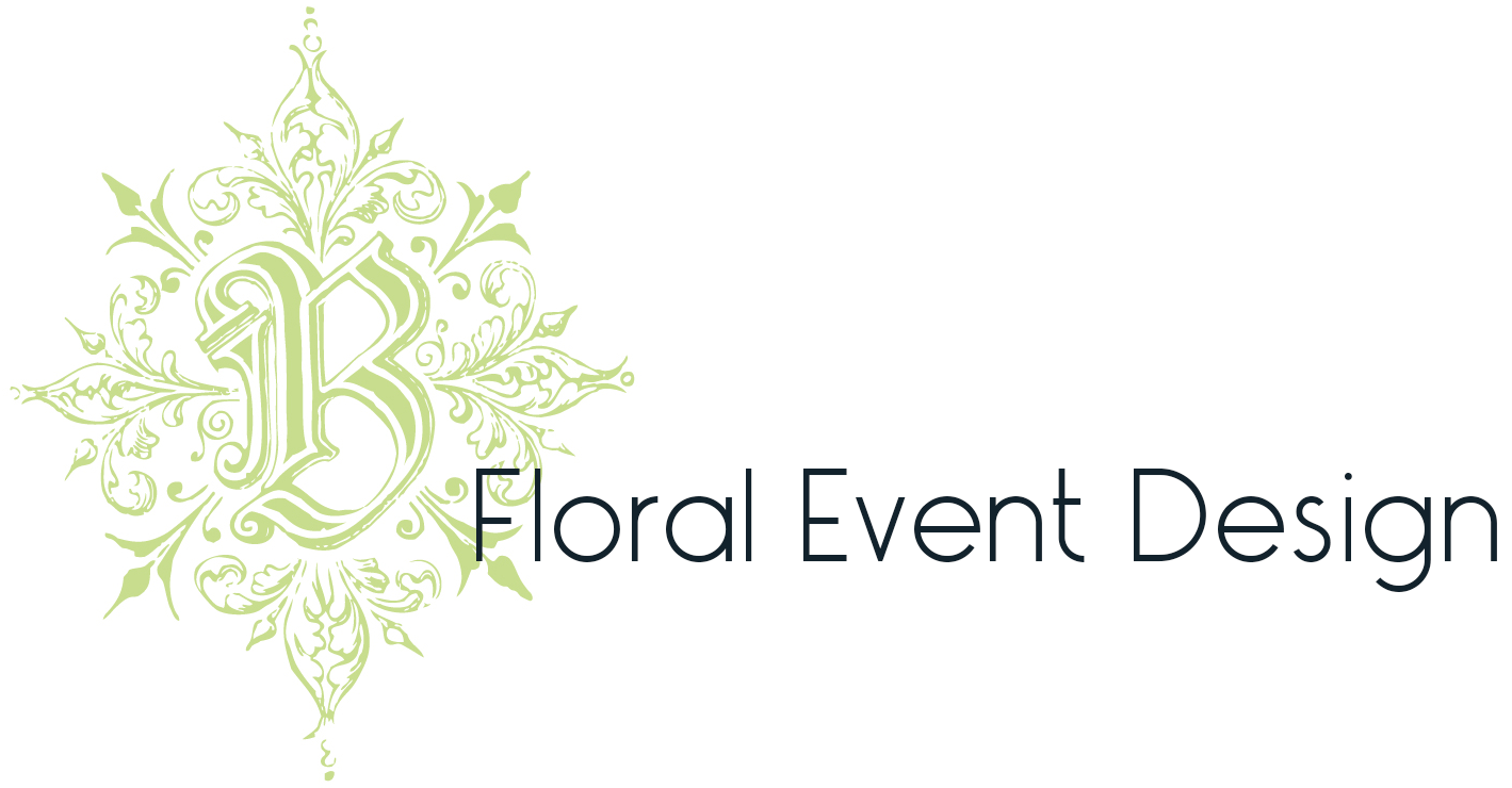Logo Design by Heather Sharpe of The Editor's Touch | B Floral Event Design