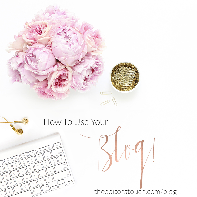 Wedding Professional Business Consulting | Best Blogging Practices | The Editor's Touch