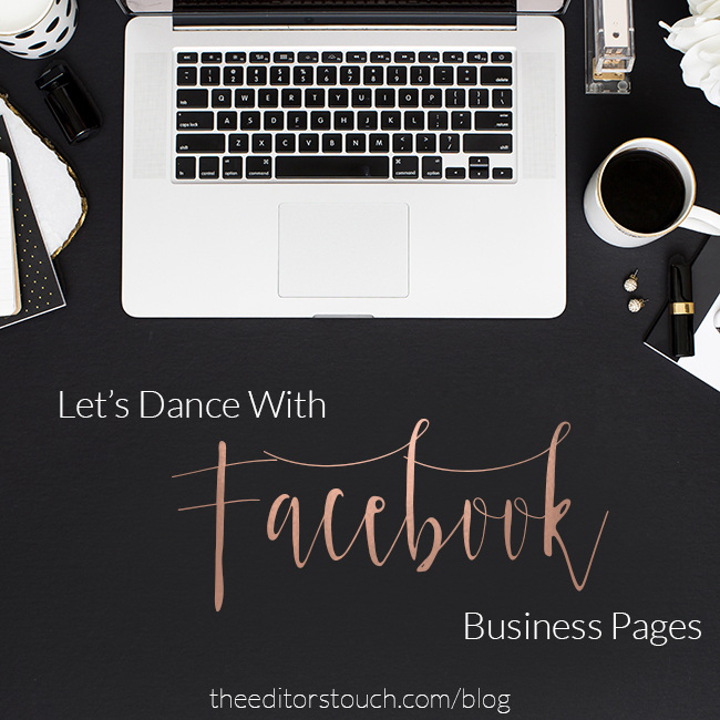 Facebook for Business | The Editor's Touch