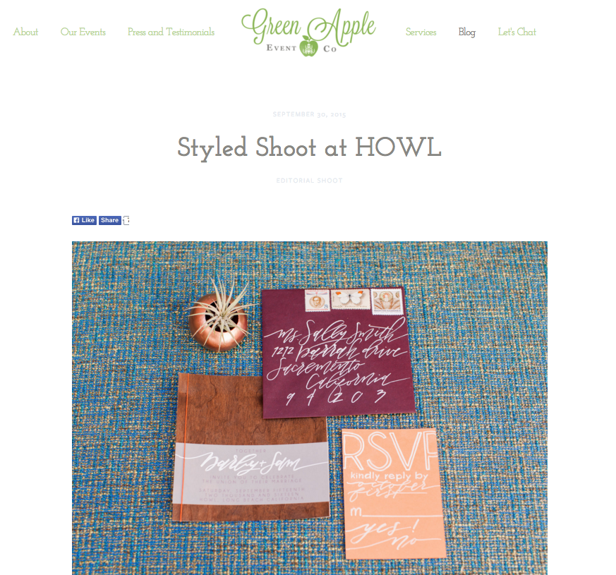 Creating a blog post using Squarespace | The Editor's Touch