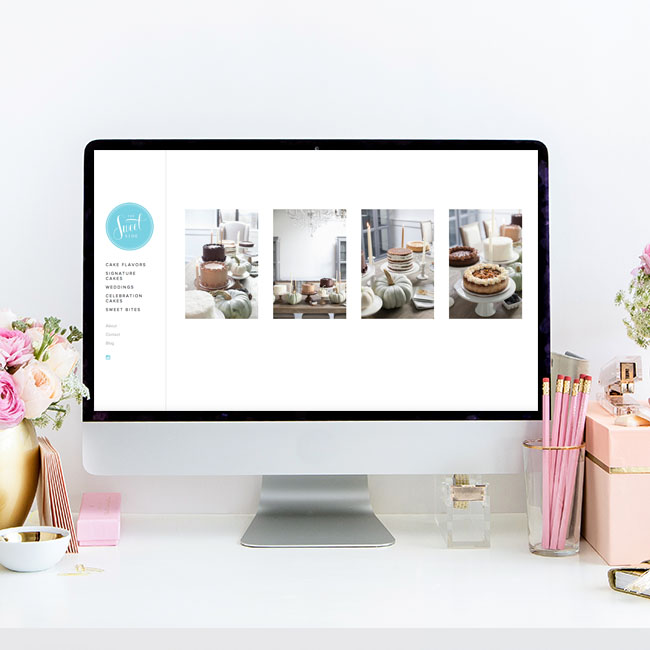 Website Design for The Sweetside of Seattle | Heather Sharpe of The Editor's Touch