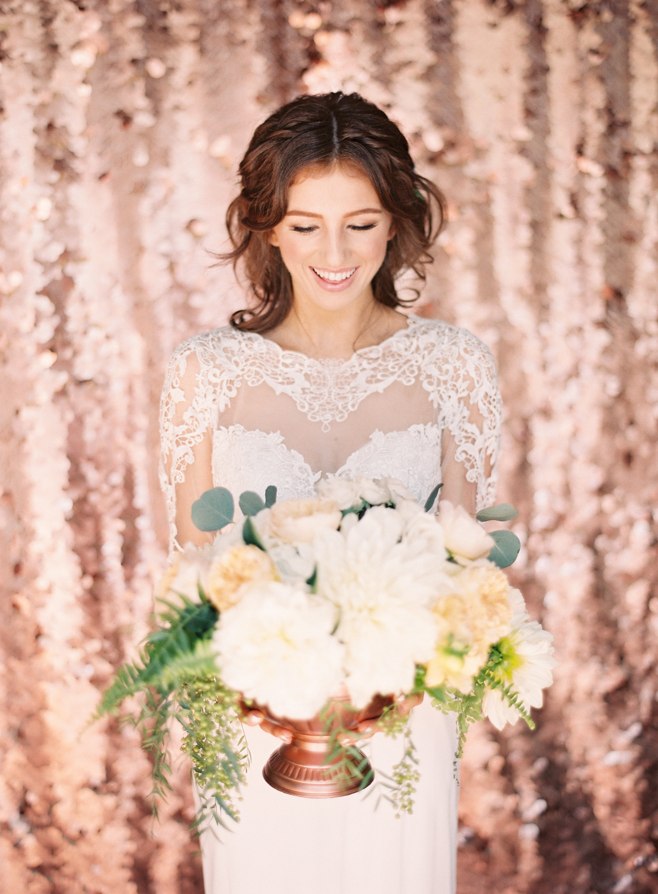 Advice for Choosing Models for a Styled Shoot | Sposto Photography | Green Apple Event Co | Rose Gold Wedding Inspiration