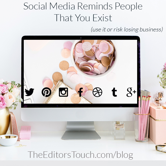 Using Social Media for Your Business to Grow | The Editor's Touch