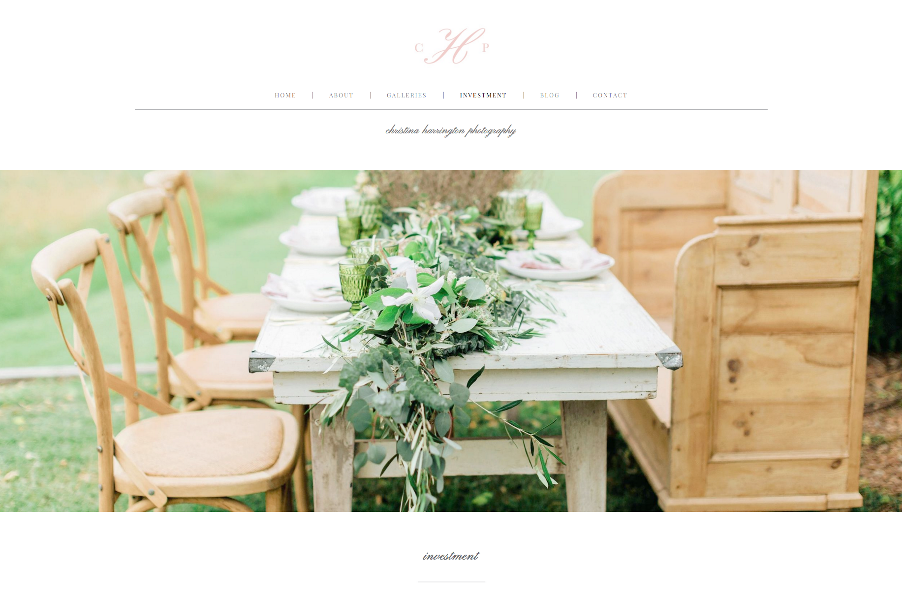 Eucalyptus Squarespace Template by Bittersweet Designs