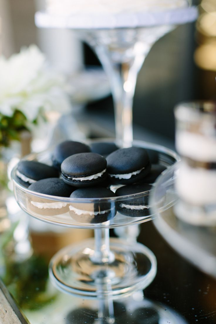 Black Macarons | Megan Clouse Photography | Props for a Styled Shoot | The Editor's Touch