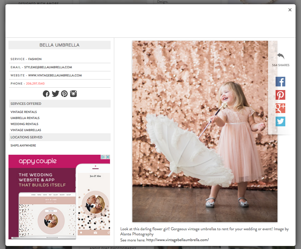 Wedding Chicks Inspiration Pages