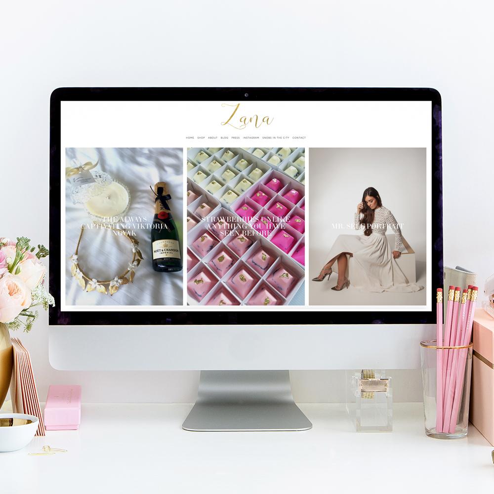 Zana Pali Website and Blog Designer