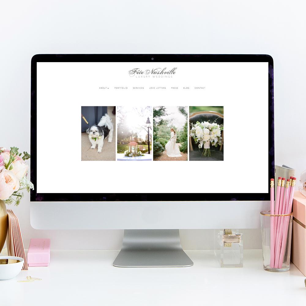 Fete Nashville Website Designer