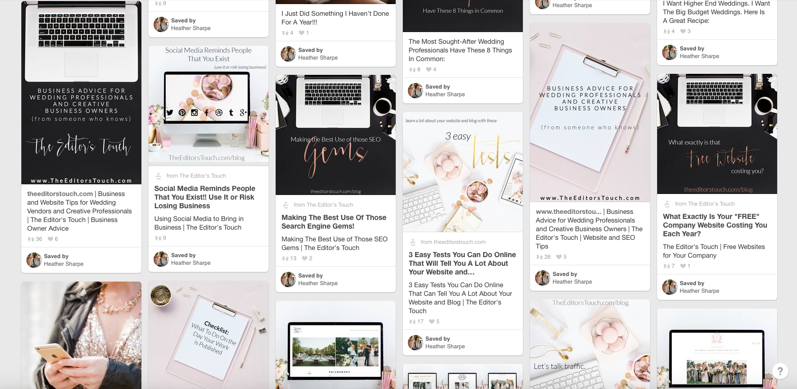 theeditorstouch.com | Tips for being successful and growing traffic on Pinterest | The Editor's Touch
