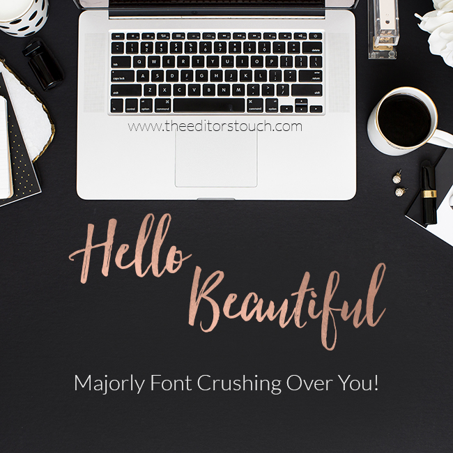 Hello, Beautiful Font | Fontastic Reveal