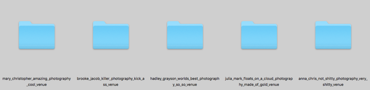 How To Name Folders Of Your Images | The Editor's Touch