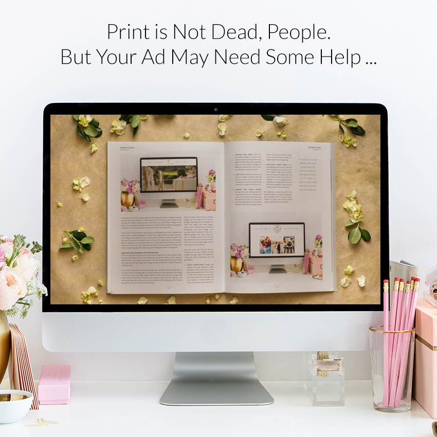 theeditorstouch.com | Print Magazine Ads and Making Them Successful | The Editor's Touch