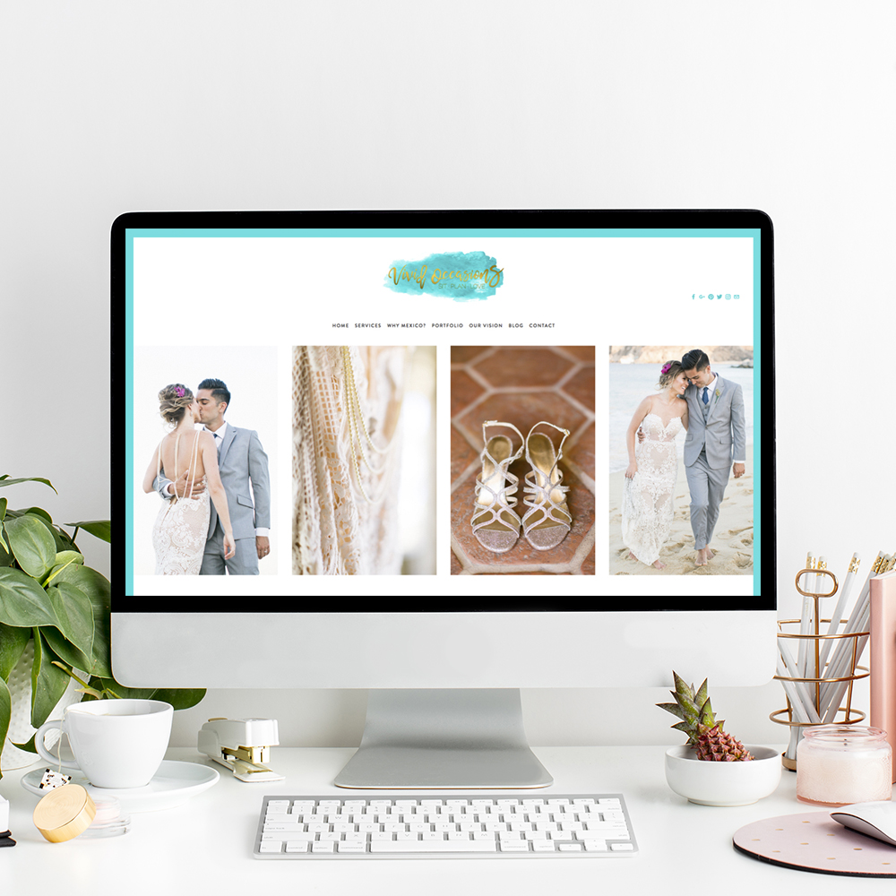 Vivid Occasions | Website Designer The Editor's Touch