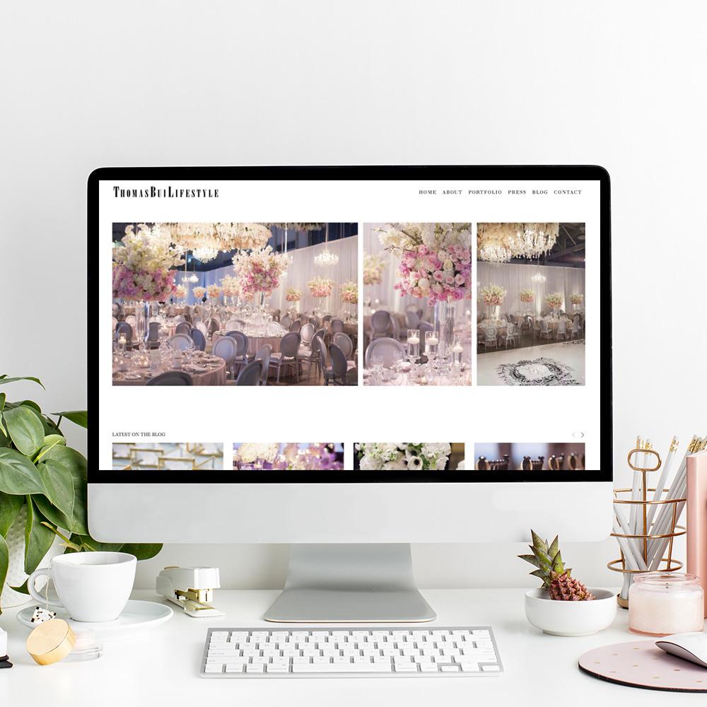Thomas Bui Lifestyle | Website Designer