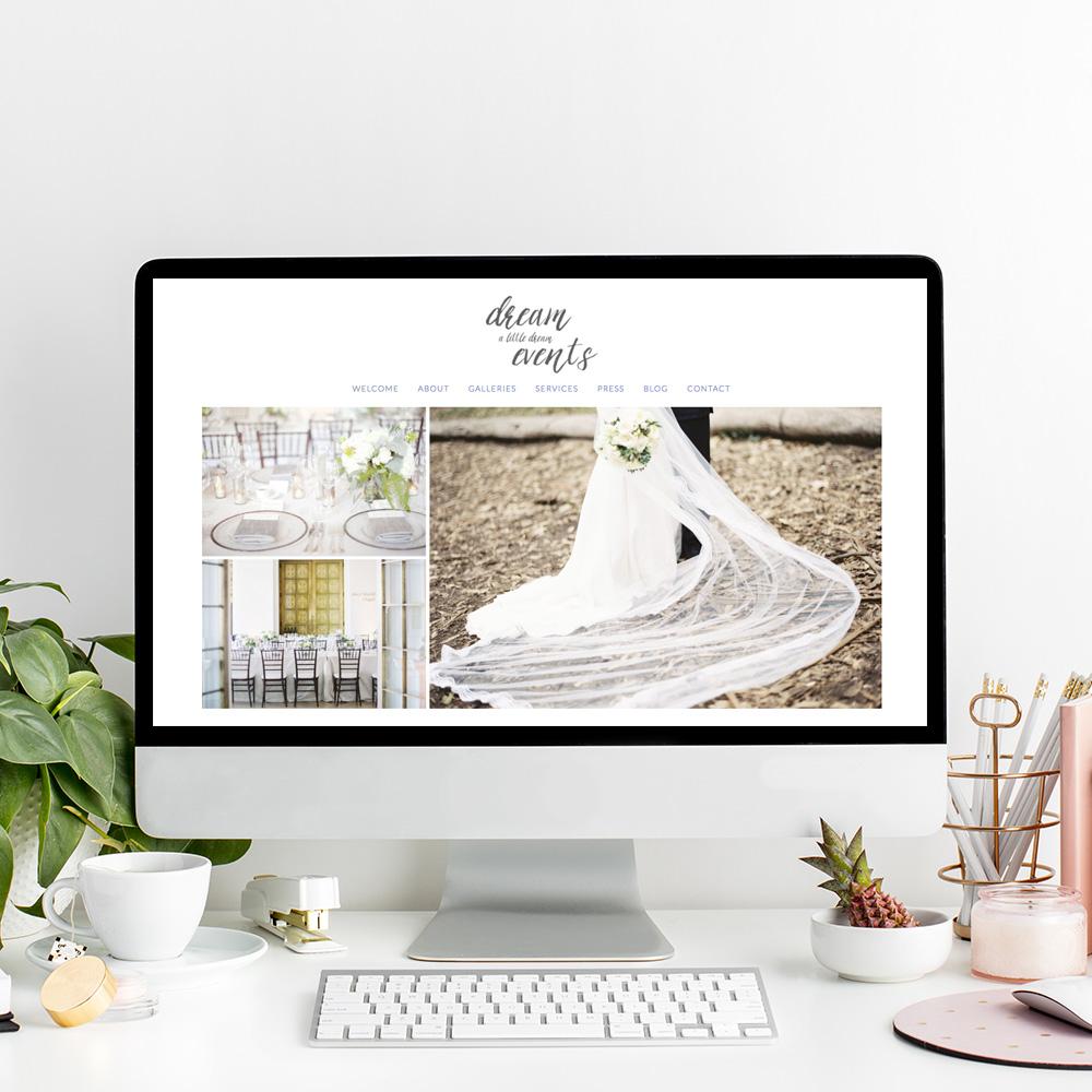 Dream A Little Dream Events | Website Designer