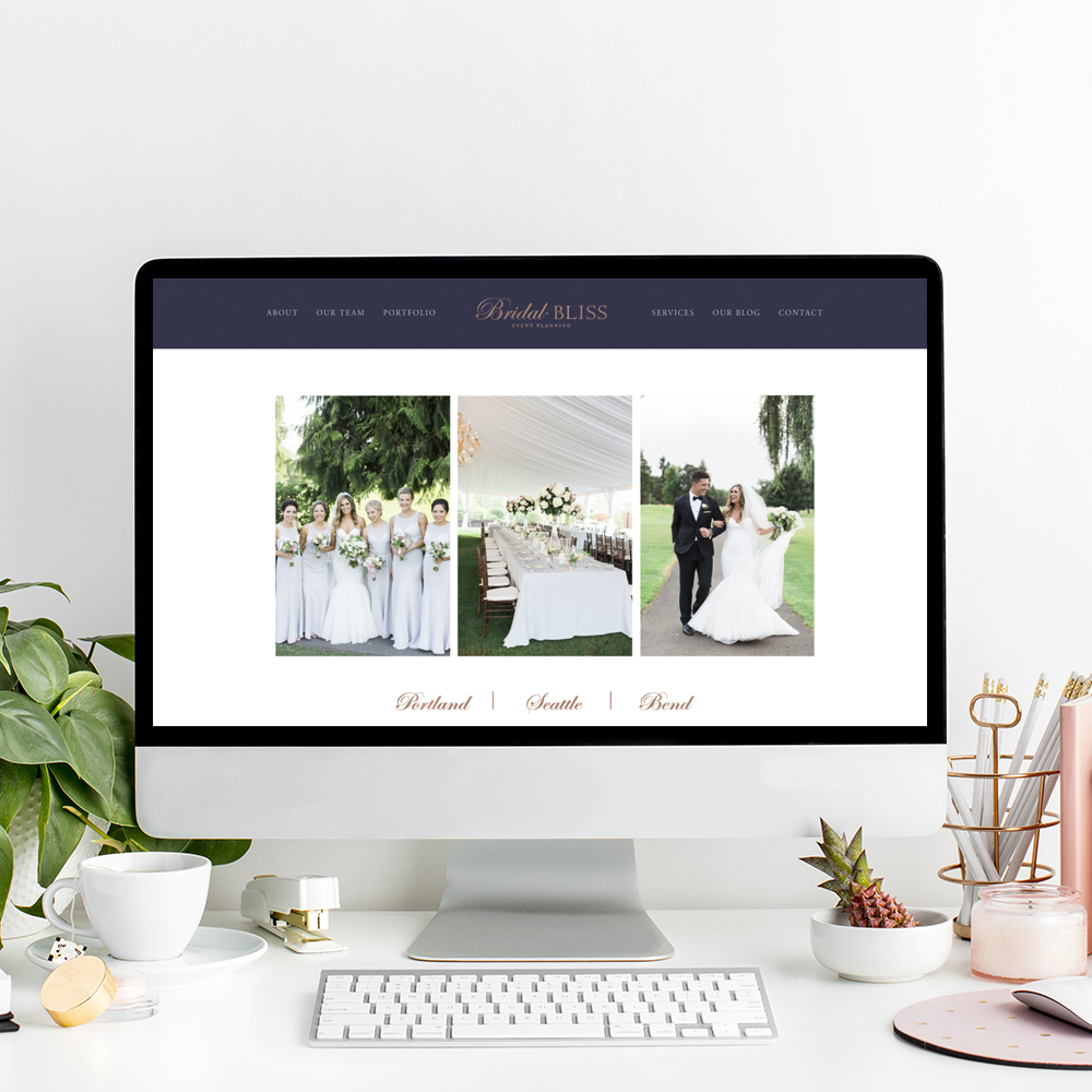 Website Designer for Bridal Bliss | The Editor's Touch