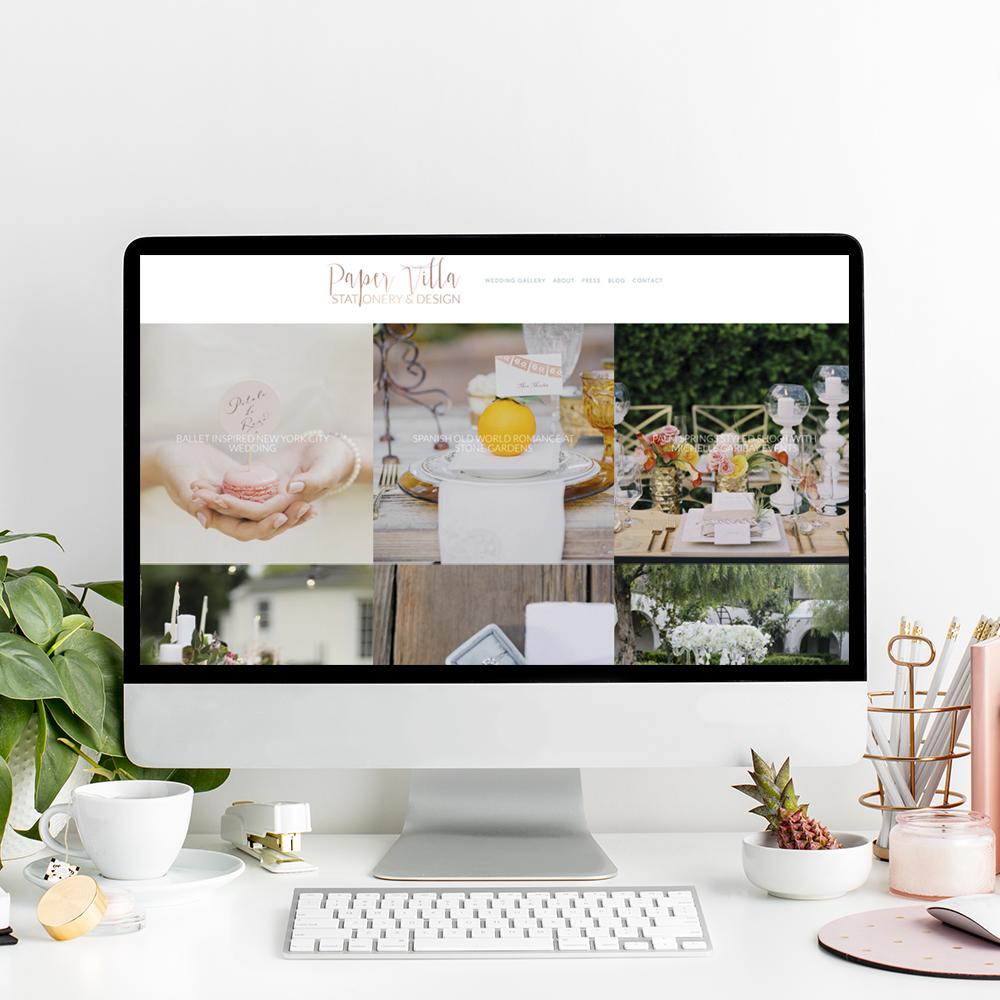 Website Designer for Paper Villa