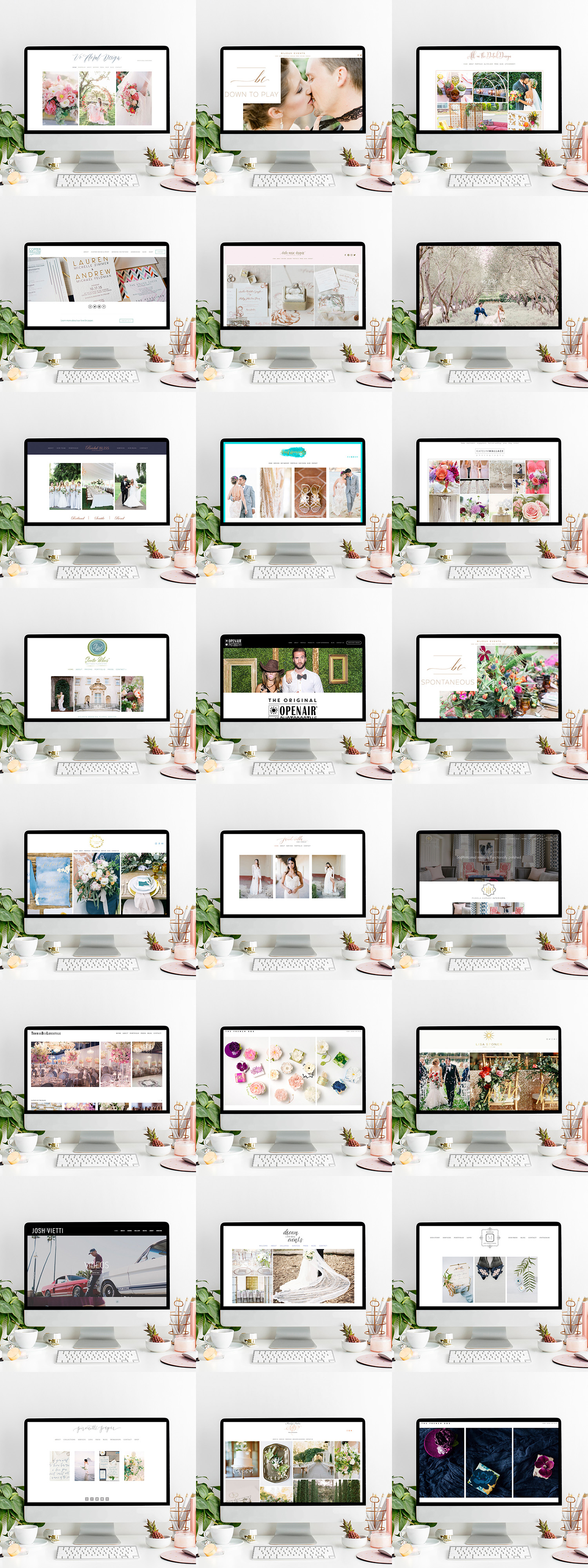 theeditorstouch.com | Squarespace Website Designer for Wedding Professionals | The Editor's Touch