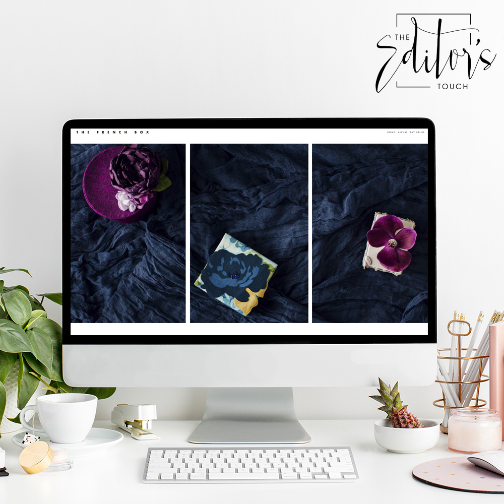 theeditorstouch.com | The French Box Website Designer | Squarespace Web Design For Wedding Professionals | The Editor's Touch