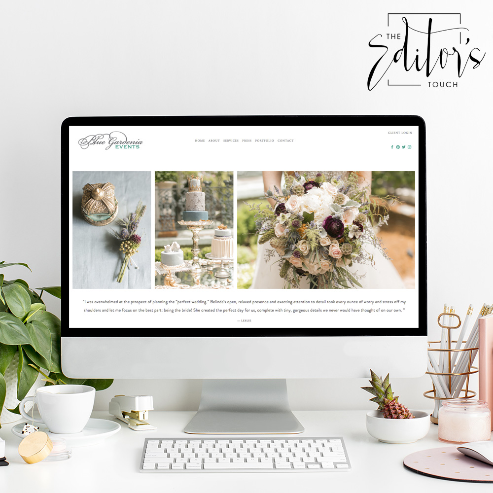 theeditorstouch.com | Squarespace Website Designer | The Editor's Touch