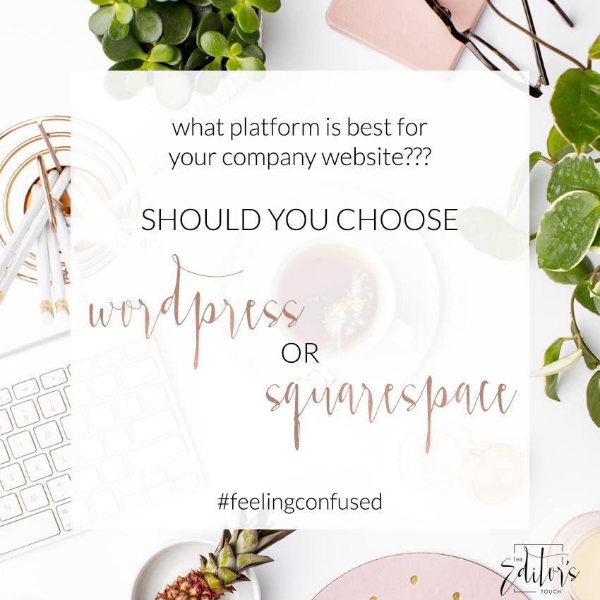 Is Squarespace or Wordpress A Better Website Platform?