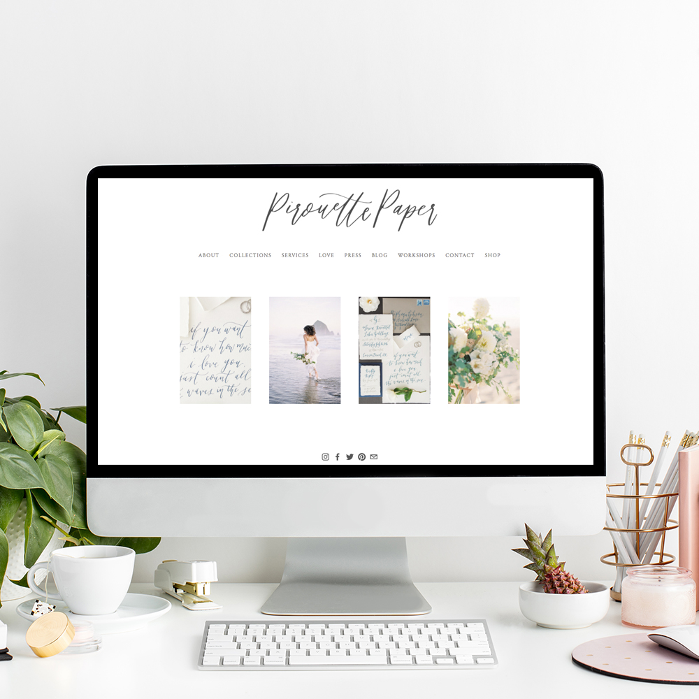 Pirouette Paper Company | Website Designer The Editor's Touch