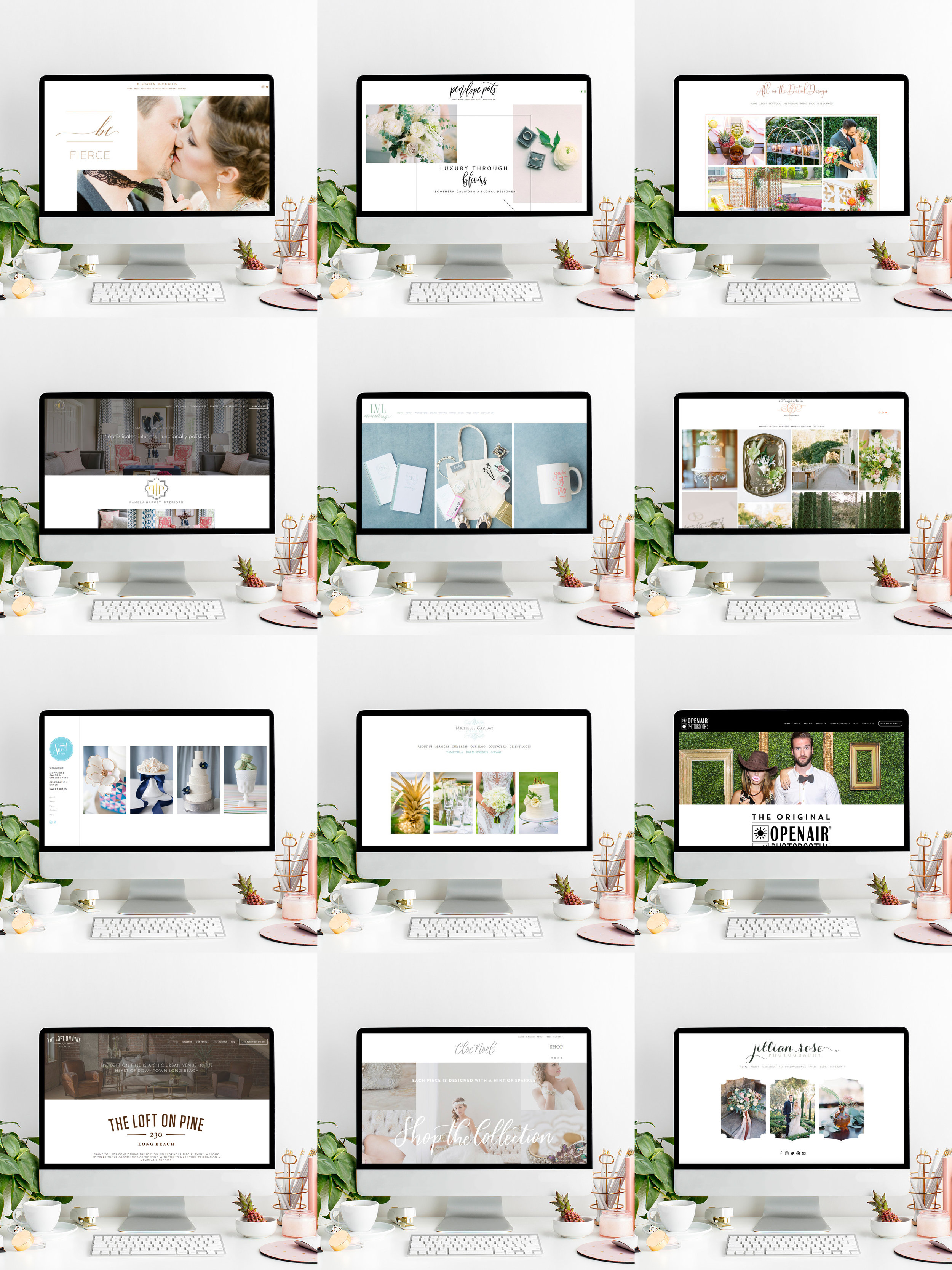 Squarespace Website Designer For Wedding Industry Professionals and Creative Business Owners | The Editor's Touch