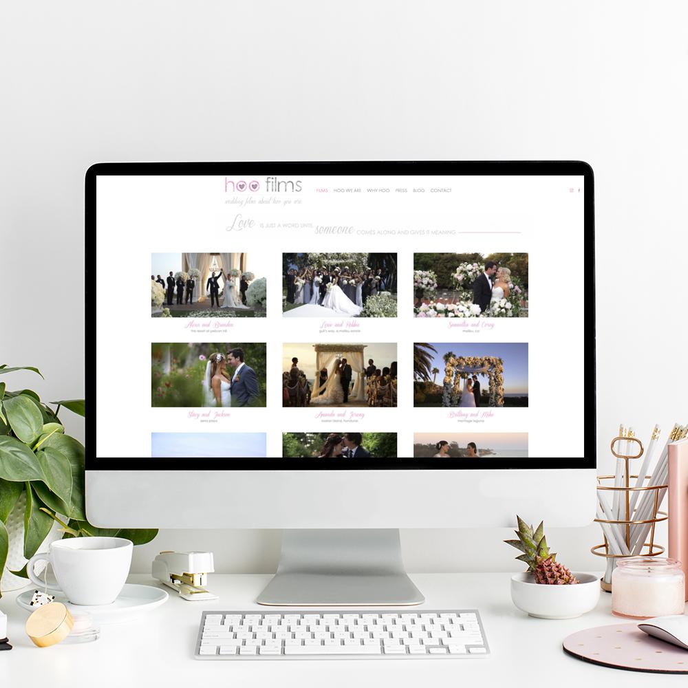 Hoo Films Website Designer