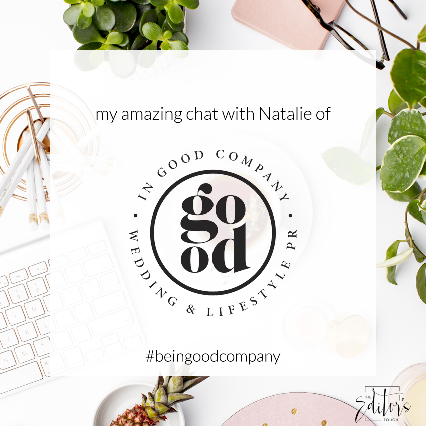 Wedding and Lifestyle Business Owners | Public Relations | In Good Company PR