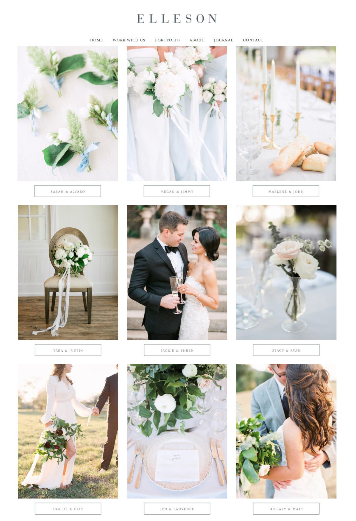Squarespace Website Designer For Wedding Professionals and Creatives