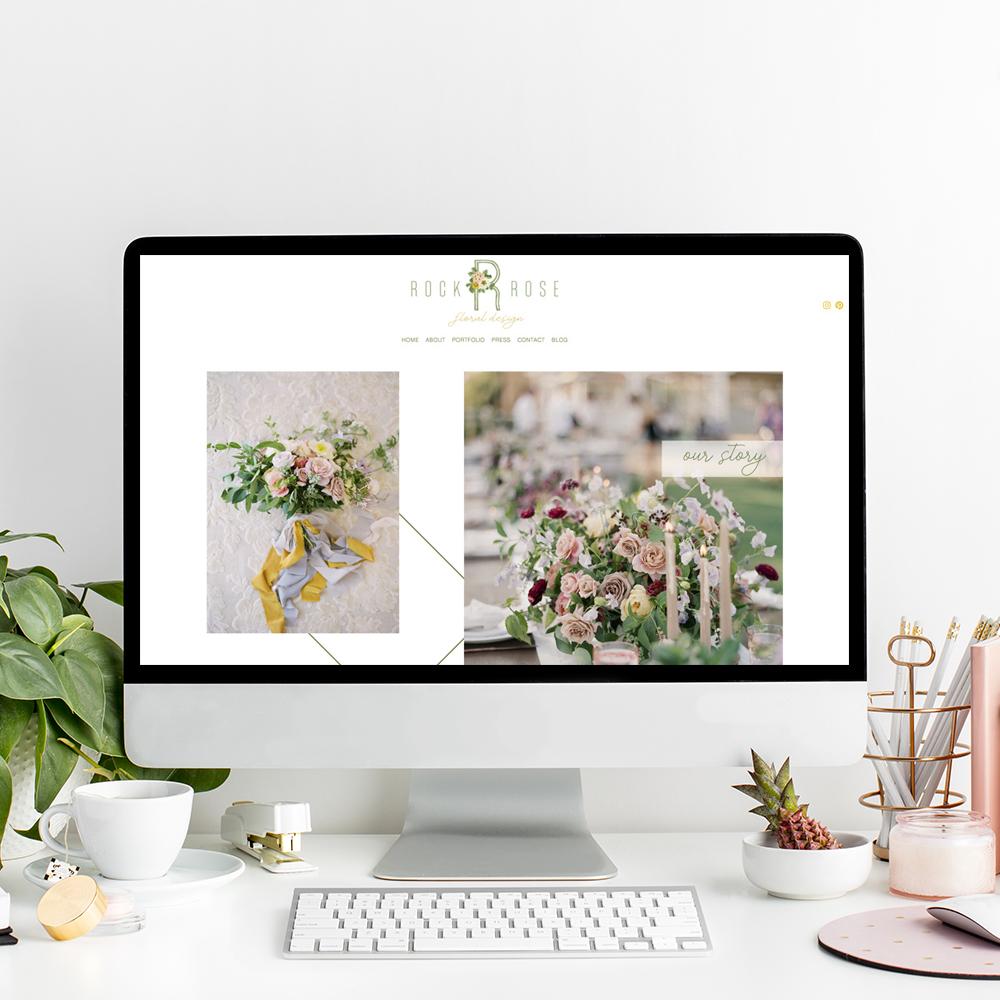 Rockrose Floral Design | Squarespace Website Designer