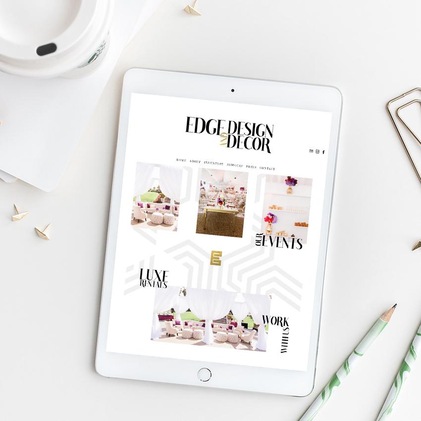 Edge Design and Decor | Website Designer