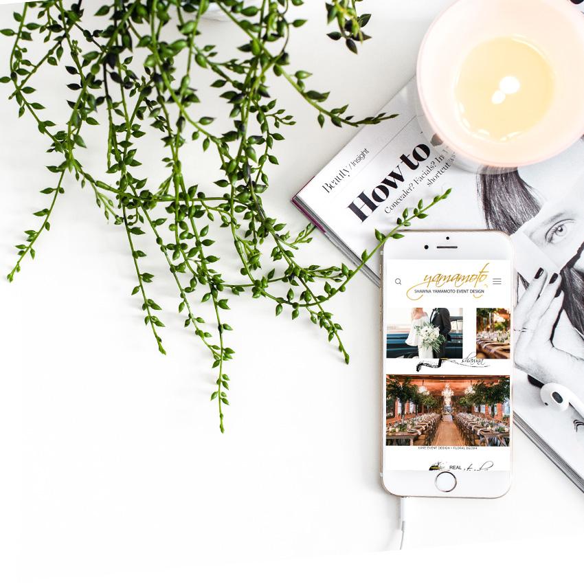 Website Design | Shawna Yamamoto