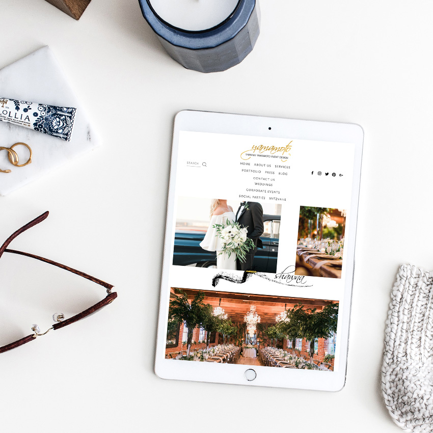 Website Designer For Wedding Professionals and Creatives